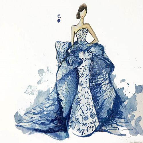 Mê mẩn những thiết kế thời trang long lanh từ sơn móng tay - Ảnh 12.