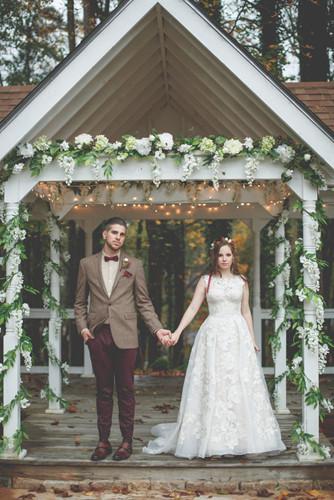 Những bức ảnh cưới tuyệt đẹp mang màu sắc của mùa thu - Ảnh 9.