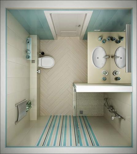 11 ý tưởng thiết kế thông minh cho phòng tắm nhỏ - Ảnh 3.