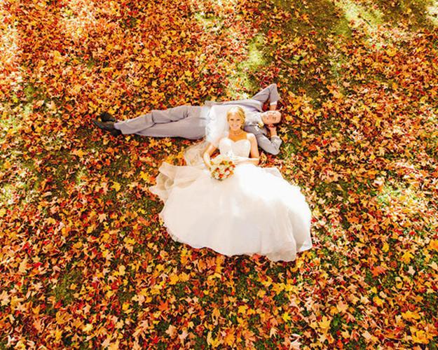 Những bức ảnh cưới tuyệt đẹp mang màu sắc của mùa thu - Ảnh 11.