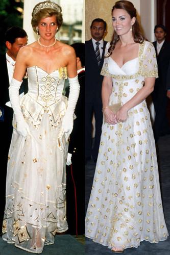 Sự tương đồng giữa bất ngờ giữa Kate Middleton và Công nương Diana - Ảnh 12.