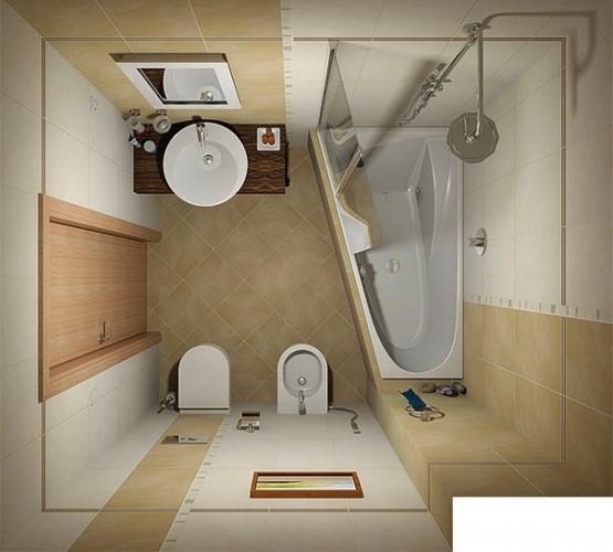 11 ý tưởng thiết kế thông minh cho phòng tắm nhỏ - Ảnh 4.