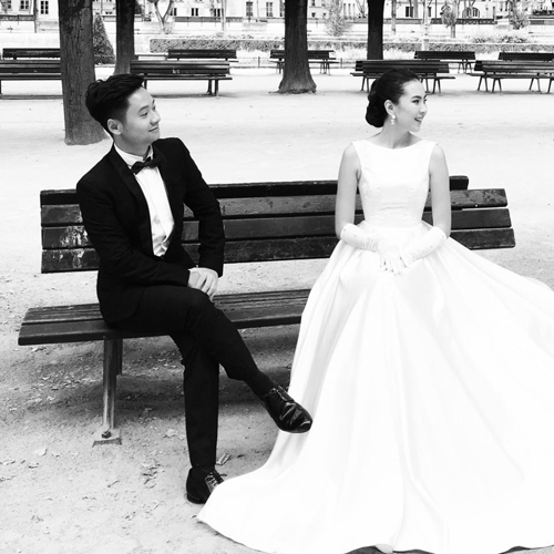 Ảnh cưới như cổ tích của cô nàng thời tiết Mai Ngọc - Ảnh 10.