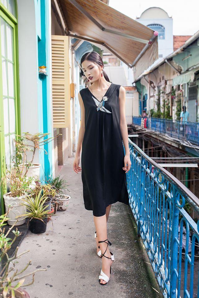 Ngắm phong cách thời trang ngọt ngào của Chà Mi - Ảnh 4.
