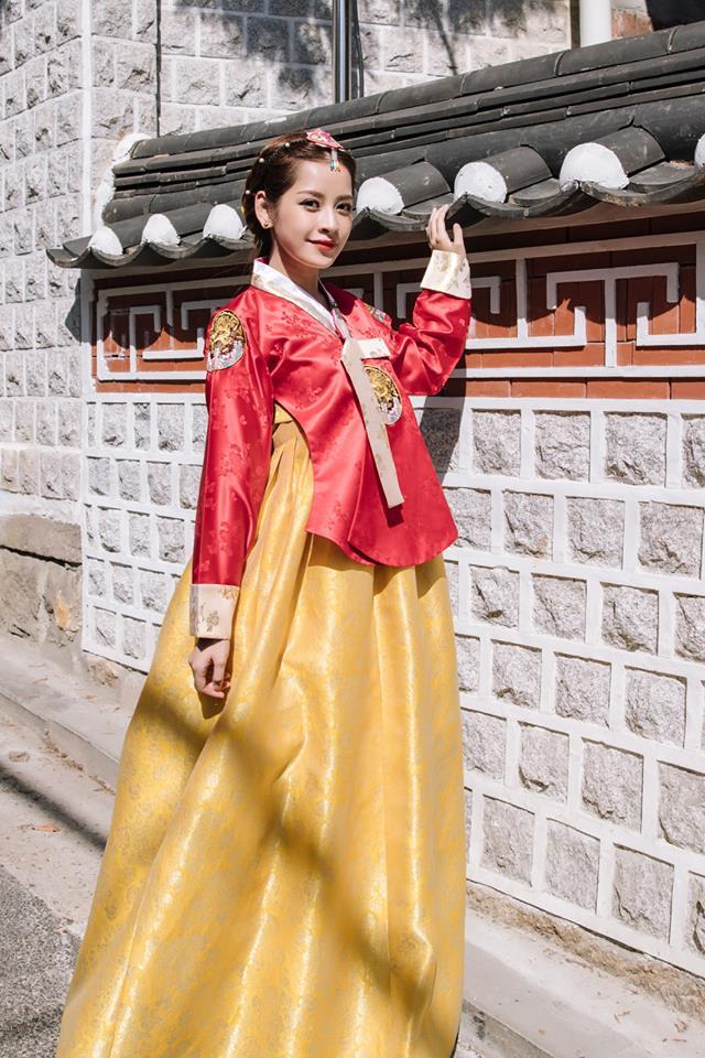 Chi Pu hóa tiểu công chúa tại Hàn Quốc - Ảnh 3.