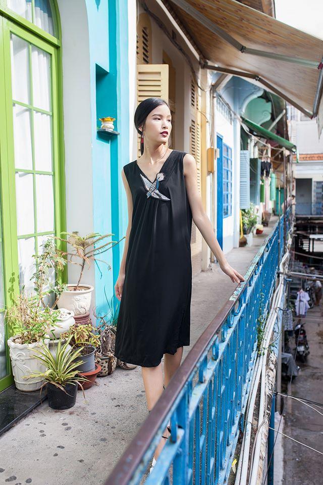 Ngắm phong cách thời trang ngọt ngào của Chà Mi - Ảnh 6.