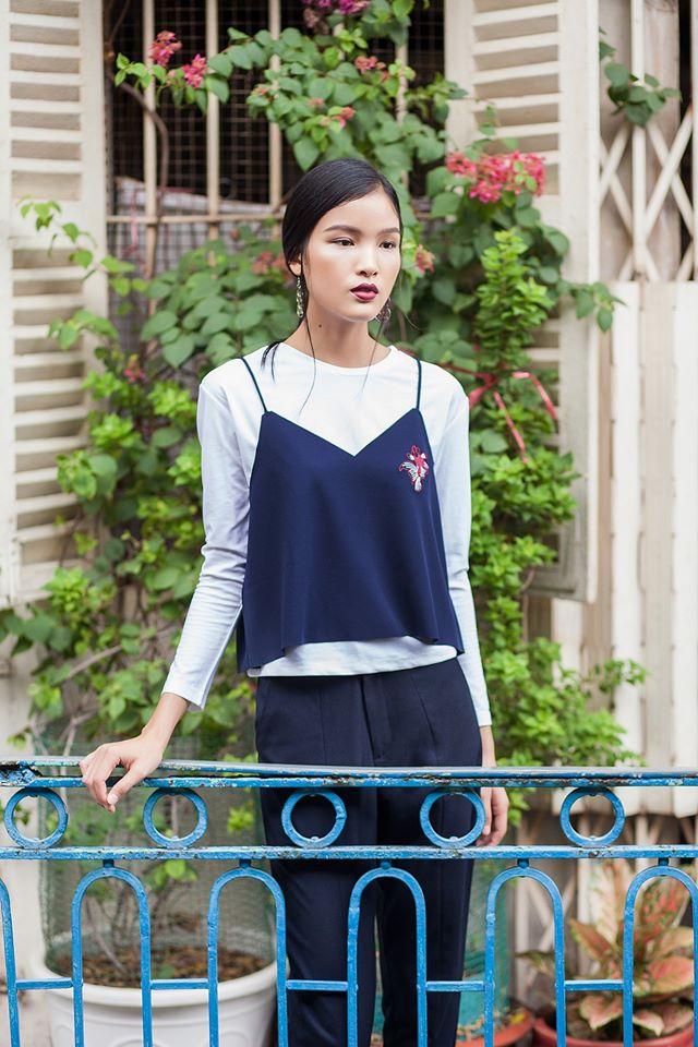 Ngắm phong cách thời trang ngọt ngào của Chà Mi - Ảnh 8.