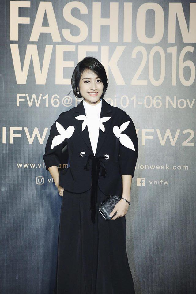 MC Phí Linh cá tính, đầy biến hóa tại Vietnam International Fashion Week - Ảnh 6.