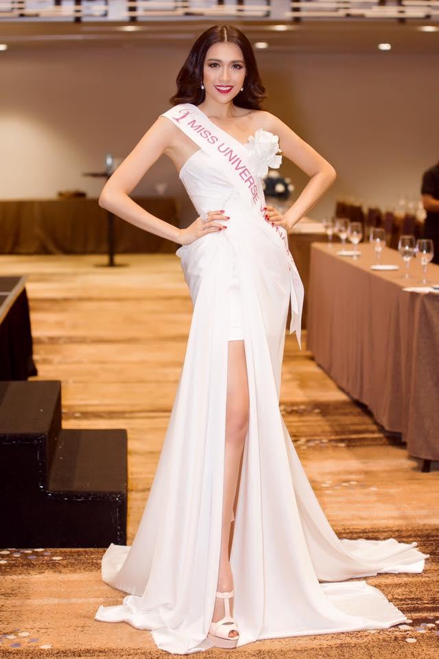 Lệ Hằng chính thức đại diện Việt Nam tại Hoa hậu Hoàn vũ thế giới 2016 - Ảnh 1.