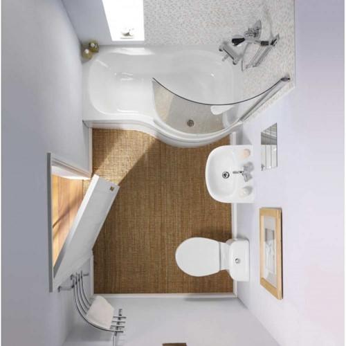 11 ý tưởng thiết kế thông minh cho phòng tắm nhỏ - Ảnh 6.