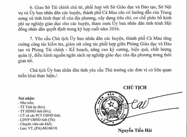 Cà Mau đảm bảo thanh toán nợ lương giáo viên trước ngày 20/11 - Ảnh 1.
