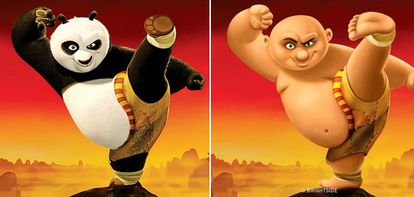 Ngắm những nhân vật hoạt hình ngộ nghĩnh phiên bản con người - Ảnh 2.