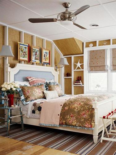 Phòng ngủ theo chủ đề bãi biển hút mắt trẻ thơ - Ảnh 10.