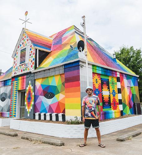 """Ngôi nhà bỏ hoang """"hồi sinh"""" dưới bàn tay của các nghệ sĩ đường phố - Ảnh 3."""