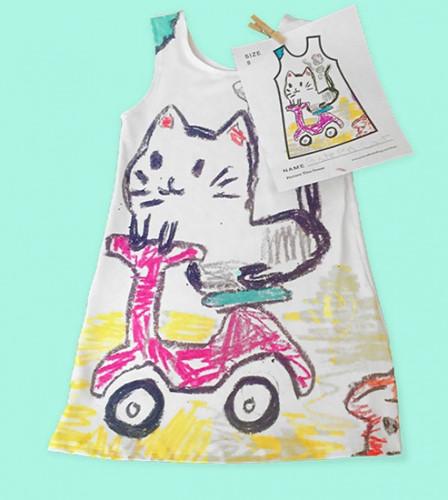 Nhà thiết kế may váy theo bản vẽ của các con mình - Ảnh 6.