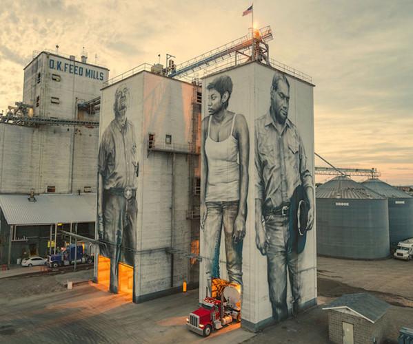 """Ngôi nhà bỏ hoang """"hồi sinh"""" dưới bàn tay của các nghệ sĩ đường phố - Ảnh 4."""