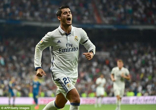 Real Madrid 2-1 Celta Vigo: Không Ronaldo, đã có Morata - Ảnh 1.