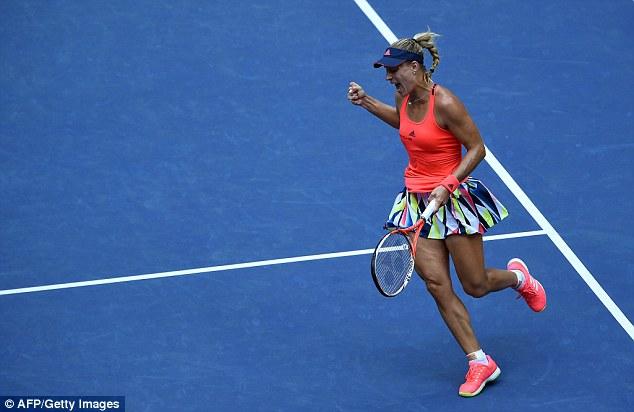 Đánh bại Pliskova, Angelique Kerber lần đầu vô địch US Open - Ảnh 1.