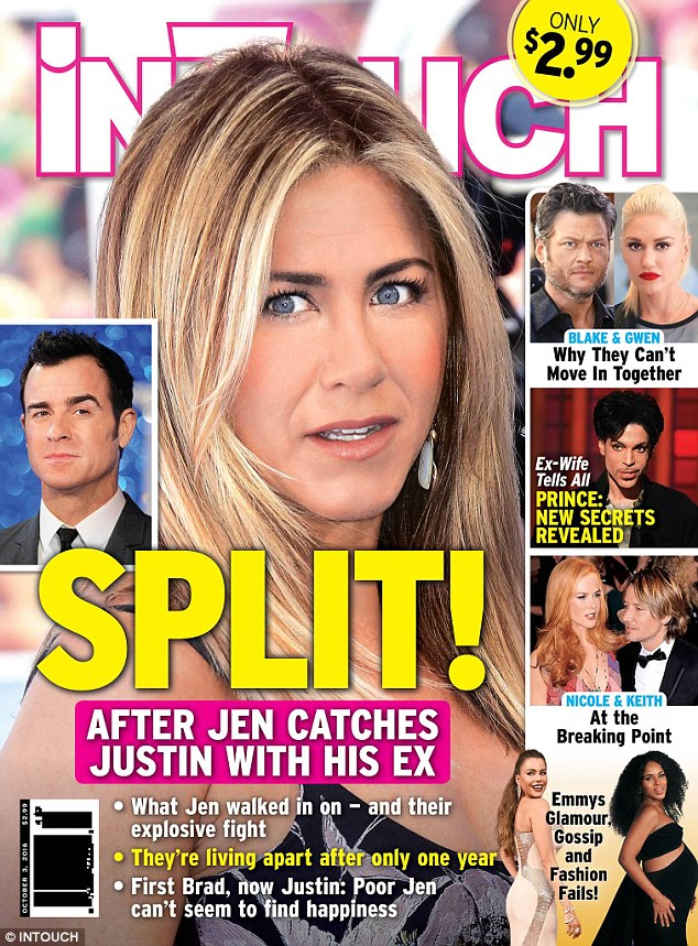 Vợ cũ của Brad Pitt không chia tay chồng mới - Ảnh 1.