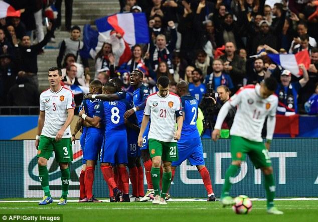 VIDEO, Pháp 4-1 Bulgaria: Đối tác mới của Griezmann - Ảnh 1.