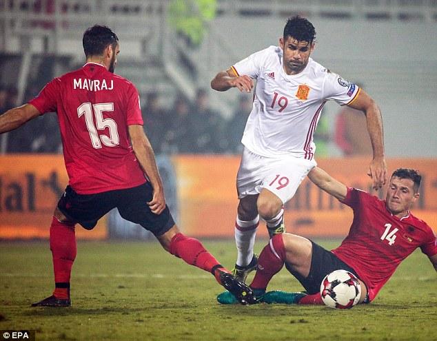 VIDEO, Albania 0-2 Tây Ban Nha: Dấu ấn Ngoại hạng Anh - Ảnh 1.