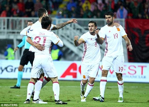 VIDEO, Albania 0-2 Tây Ban Nha: Dấu ấn Ngoại hạng Anh - Ảnh 2.