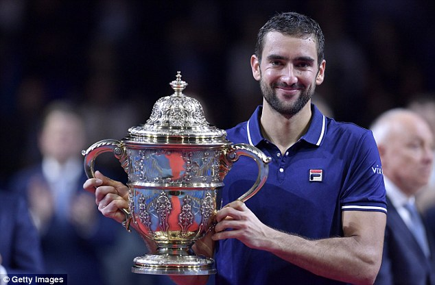 Basel Open: Đánh bại Nishikori, Marin Cilic giành danh hiệu ATP 500 đầu tiên - Ảnh 1.