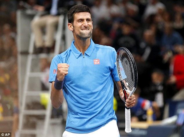 Andy Murray tiến vào tứ kết giải quần vợt Paris Masters - Ảnh 1.