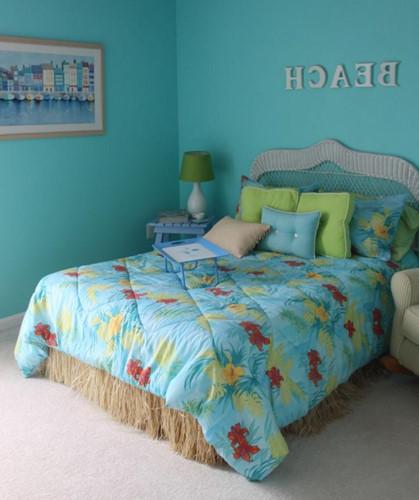 Phòng ngủ theo chủ đề bãi biển hút mắt trẻ thơ - Ảnh 7.