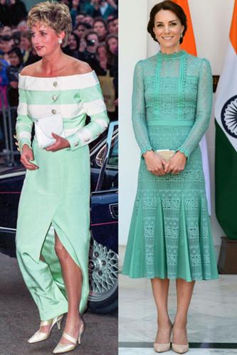 Sự tương đồng giữa bất ngờ giữa Kate Middleton và Công nương Diana - Ảnh 4.