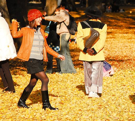 Cảnh sắc mùa thu với lá vàng, lá đỏ đẹp như tranh vẽ ở Tokyo - Ảnh 10.