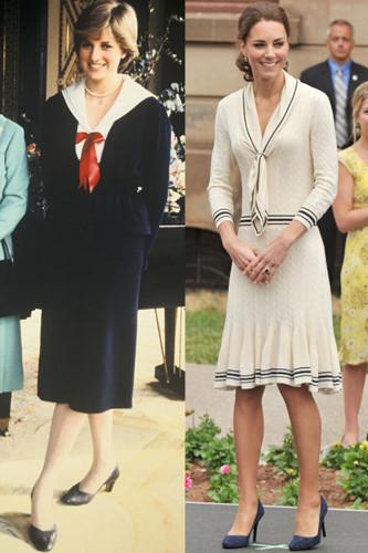 Sự tương đồng giữa bất ngờ giữa Kate Middleton và Công nương Diana - Ảnh 7.