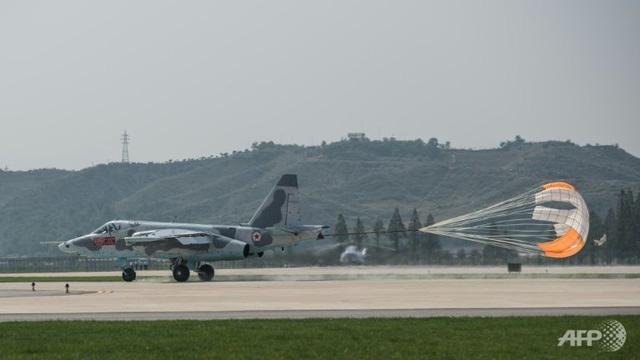Triển lãm hàng không quốc tế lần đầu tiên tại Triều Tiên - Ảnh 6.