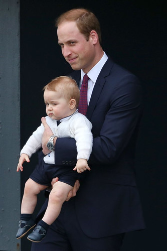 Những khoảnh khắc tuyệt vời của cha con hoàng tử William - Ảnh 11.