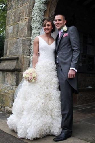 Đám cưới lộng lẫy của những người nổi tiếng - Ảnh 12.