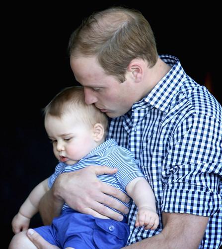 Những khoảnh khắc tuyệt vời của cha con hoàng tử William - Ảnh 7.