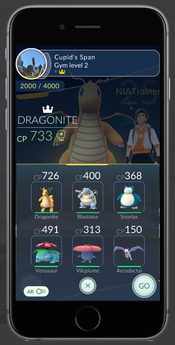 Bản cập nhật Pokémon GO sẽ cho phép người chơi thi đấu Gym với 6 Pokémon - Ảnh 1.