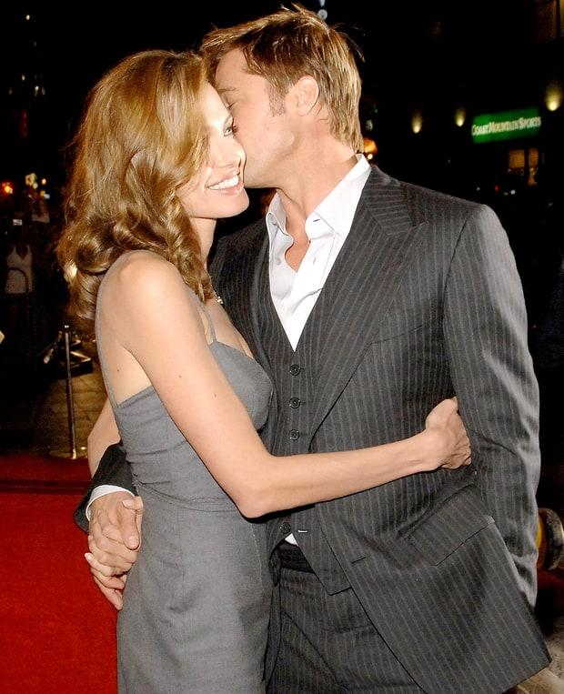 Những khoảnh khắc tưởng như không thể rời xa của Angelina Jolie - Brad Pitt - Ảnh 4.