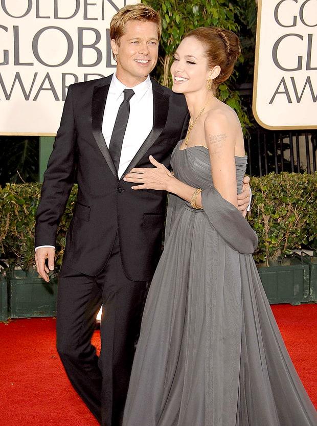 Những khoảnh khắc tưởng như không thể rời xa của Angelina Jolie - Brad Pitt - Ảnh 1.