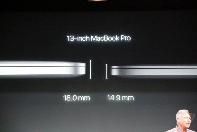 MacBook Pro 2016 ra mắt: Siêu mỏng, siêu nhẹ, hỗ trợ Touch ID, Touch Bar - Ảnh 2.
