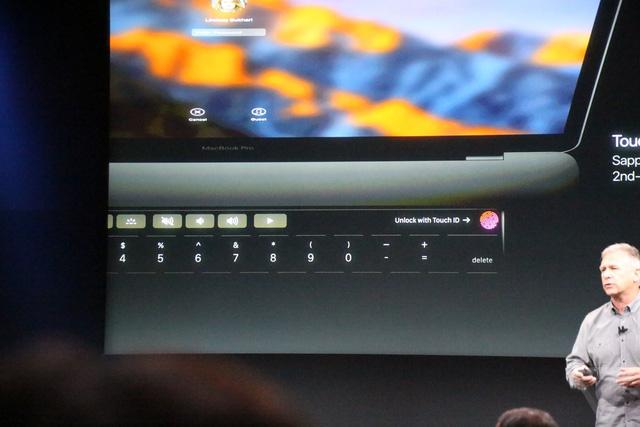 MacBook Pro 2016 ra mắt: Siêu mỏng, siêu nhẹ, hỗ trợ Touch ID, Touch Bar - Ảnh 4.