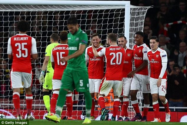 Arsenal - Middlesbrough: Quà mừng sinh nhật Arsene Wenger! - Ảnh 1.