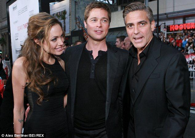 Georger Clooney sốc khi nghe tin ly dị của Jolie Pitt từ CNN - Ảnh 1.