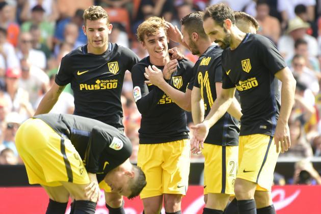 Valencia 0 - 2 Atletico Madrid: Bỏ lỡ 2 quả penalty, Atletico vẫn có 3 điểm - Ảnh 2.