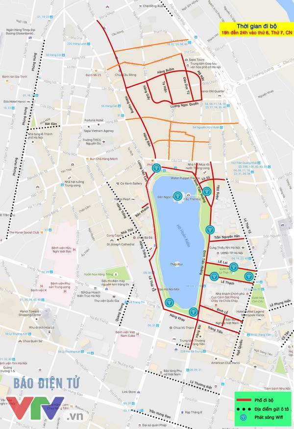 Không gian 9 tuyến phố đi bộ mới quanh phố cổ Hà Nội - Ảnh 9.