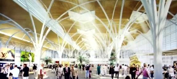 Sẽ lấy ý kiến công chúng về 3 phương án kiến trúc sân bay Long Thành - Ảnh 2.