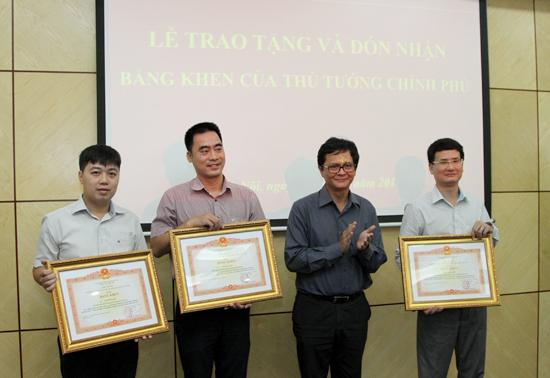 Trao tặng Bằng khen của Thủ tướng Chính phủ cho các tập thể và cá nhân Đài THVN - Ảnh 1.