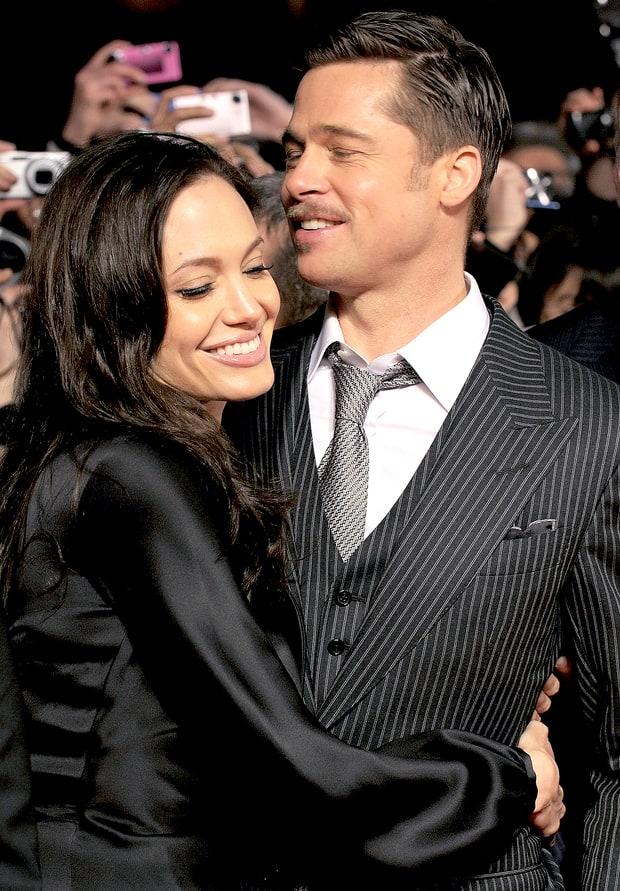 Những khoảnh khắc tưởng như không thể rời xa của Angelina Jolie - Brad Pitt - Ảnh 9.