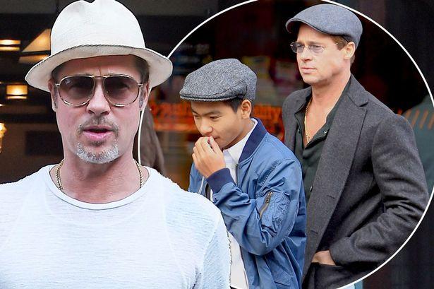 Con trai lớn đã đồng ý gặp Brad Pitt - Ảnh 1.