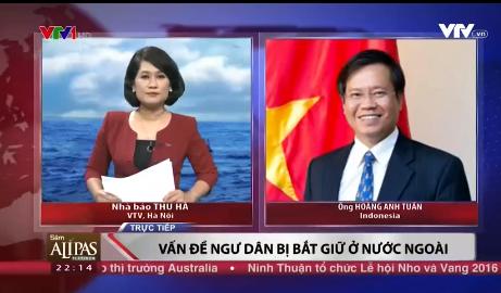 228 ngư dân Việt Nam bị Indonesia bắt giữ đã trở về nước an toàn - Ảnh 1.